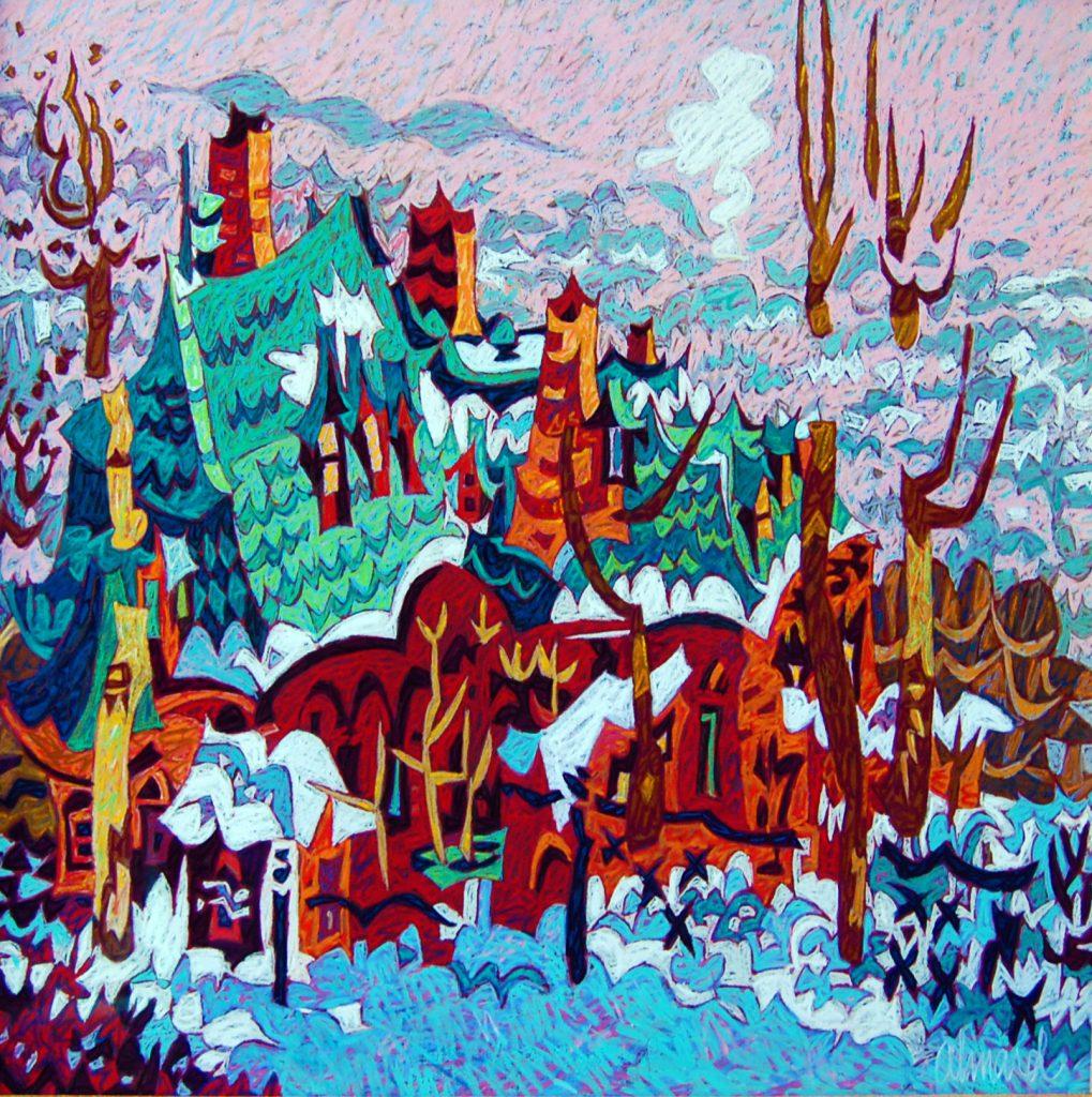 Artist John LeBlanc
